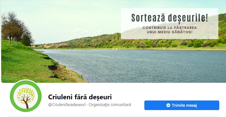 Cover page a proiectului